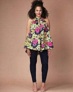 Ladies Ankara Tops For Jeans, ankara top styles with Jean shorts, ankara too with Jean trousers, perfect Ankara tops design for ladies, hot Ankara styles for jeans to match African Fashion Ankara, African Fashion Designers, Ghanaian Fashion, African Print Fashion, Africa Fashion, Men's Fashion, Fashion Outfits, Fashion Hacks, Street Fashion