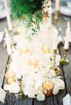 beach wedding table candle decorations 2014 www.loveitsomuch.com