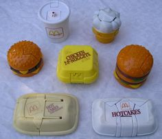 Remember these? 80's McDonalds Transformers food toys #80skid #nostalgia