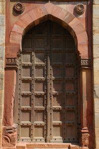 Door (Purana Qila Fort)
