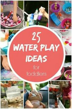 25 water plsy ideas for toddlers