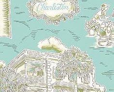 charleston toile