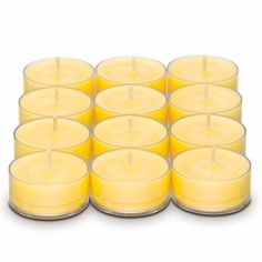 FRESH CITRUS NECTAR FRESH HOME BY PARTYLITE™ UNIVERSAL TEALIGHT® CANDLES