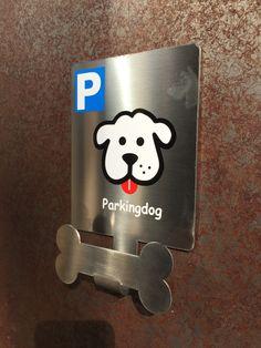 """""""Parking para perros PERSONALIZAMOS con su LOGO . Aparcaperros Parkingdog"""