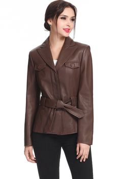 BGSD Women's Belted Lambskin Leather Jacket. Check out this great style for $199.99 on Luxury Lane. Click on the image above to get a coupon code for 10% off on your next order.