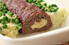 PANELATERAPIA - Blog de Culinária, Gastronomia e Receitas: Rocambole de Carne Recheado de Provolone