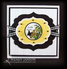 SU - Apothecary Art set  Labels Framelits dies in yellow and black