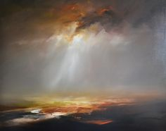 Theatre of the Storm   Oil on canvas 120x100cm