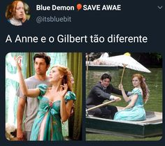 Anne with an E memes, encantada Anne Shirley, Anne And Gilbert, Anne With An E, My Princess, Stranger Things, Favorite Tv Shows, Couple Goals, Funny Memes, My Love