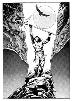 Conan the Barbarian ~ Tony DeZuñiga