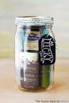 St. Patrick's Day Mason Jar Gift