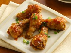 Sticky & Sweet Ginger Garlic Chicken Wings