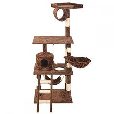 """BestPet 64\"""" Cat Tree Tower Condo Furniture Scratch Post Kitty Pet House ** Visit the sponsored product link more details."""