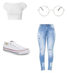 """Untitled #123"" by taukaila on Polyvore featuring Helmut Lang, Converse and Nasty Gal"