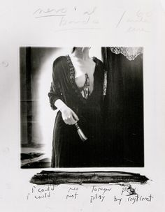 Francesca Woodman, i could no longer play. i could not play by instinct, Providence, Rhode Island, 1977