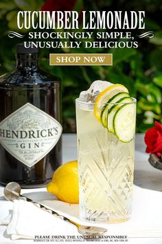 Fancy Drinks, Cocktail Drinks, Cocktail Recipes, Craft Cocktails, Gin Recipes, Alcohol Drink Recipes, Refreshing Drinks, Summer Drinks, Deserts
