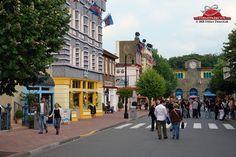 Movie Park Main Street, formerly Warner Brothers Movie Park, Germany.