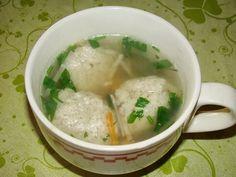 Cristina's world: Supa cu galuste din tarate de ovaz
