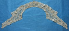 Another excellent lace from the July 13, 2014 Ebay Alerts. Duchesse de Bruxelles collar.