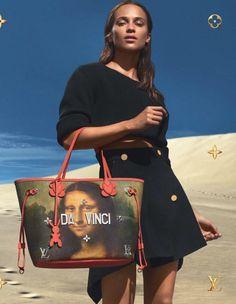 Louis Vuitton x Jeff Koons Handbags 2017 : Alicia Vikander by Mert & Marcus http://ift.tt/2oyoMHL
