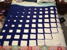 Radiant Squares Blanket (knit)