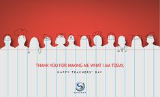 Synergy Teacher' Day Ad on Behance Teachers Day Greeting Card, Teachers Day Wishes, Teachers Day Poster, Happy Teachers Day, Creative Poster Design, Ads Creative, Creative Posters, Teacher Appreciation Quotes, School Brochure