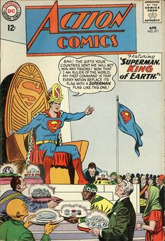 Action Comics #311, April 1964, cover by Curt Swan and Sheldon Moldoff