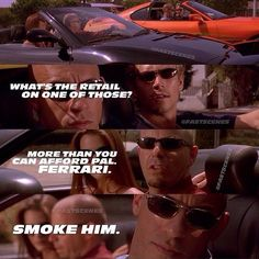 Fast Cars Quotes Vin Diesel 41 New Ideas Fast And Furious Memes, Fast Furious 1, Movie Fast And Furious, Furious Movie, The Furious, Dom And Letty, Fast Five, Ludacris, Street Racing