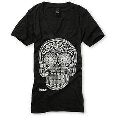 Glow In The Dark Obey Sugar Skull!