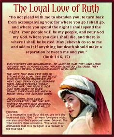 """Do not plead with me to abandon you, to turn back from accompanying you; Scripture Memorization, Scripture Study, Bible Scriptures, Bible Quotes, Ruth Bible, Book Of Ruth, Proverbs 31 Woman, Godly Relationship, Bible Knowledge"