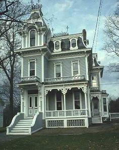 Second Empire Victorian Homes on Pinterest | 192 Pins