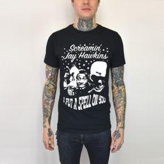 "Screamin' Jay Hawkins ""I Put A Spell On You"" T-Shirt"