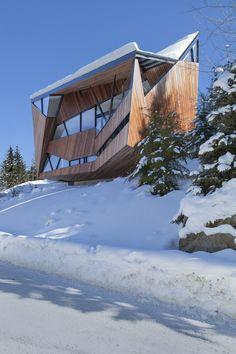 Hadaway House,© James Dow / Patkau Architects