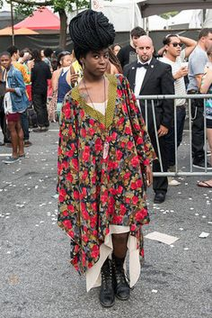afro punk festival | Fashion Trendsetters in the Afro-Punk Music Festival