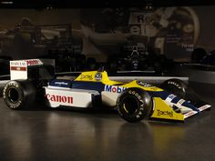 1987 Williams FW11C - Judd (prototyp)