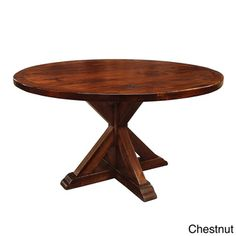 La Phillippe Reclaimed Wood Round Dining Table | Overstock.com Shopping - Great Deals on Dining Tables