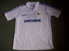 722061378 1988 1990 Real Madrid Match Issued  6 Martin Vasquez Home Football Shirt  Adults Large Camiseta