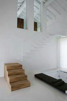 42 meilleures images du tableau esc pas d cal japonais mezzanine petit escalier et combles. Black Bedroom Furniture Sets. Home Design Ideas