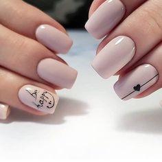 # manicure # style # girls # gellak # nails # nails # design # ideas # pedicure # master # beauty # design nails # beautiful nails # beautiful manicure # like # fashion # ideal manicure # shellac # # … Nail Manicure, Gel Nails, Acrylic Nails, Nail Polish, Spring Nail Trends, Spring Nails, Love Nails, Pretty Nails, Heart Nails