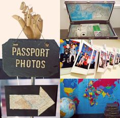 birthday travel idea Project Nursery - Birthday Party Photo Booth for Passport Photos Kids Birthday Themes, 1st Birthday Girls, 1st Birthday Parties, Party Themes For Kids, Birthday Gifts, Lila Party, Travel Bridal Showers, Bon Voyage Party, Around The World Theme
