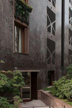 edificio Via Massena,Milano di Caccia Dominioni