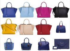 Czarna, biała, niebieska, fioletowa, żółta, brązowa czy czerwona #torebka? http://www.perfectto.eu/portfele-damskie