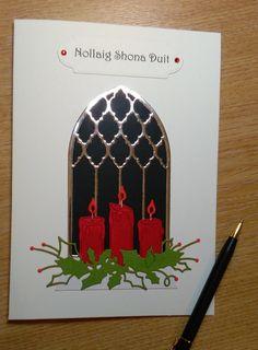 Nollaig Shona agus Athbhliain faoi Mhaise Duit; Daoibh; Irish Language Christmas Card - SEE DESCRIPTION; Cárta Nollag as Gaeilge; by CraftyCardsAOR on Etsy