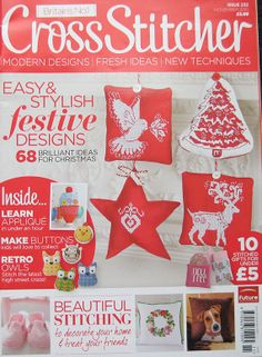 Cross Stitcher British UK Magazine Issue 232 by TheHowlingHag, $9.95