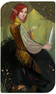 Commission: Scarlet by DemonLife on DeviantArt