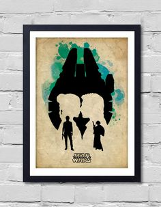 Han Solo Poster by POSTERSHOT on Etsy