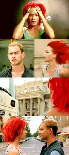 Run Lola Run - This was the first German movie I ever saw :)