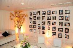mural de fotos para festa
