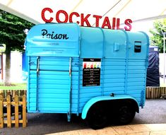 Poison Cocktails Horse Box Bar