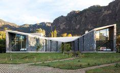 Каменный дом в мексиканской деревне